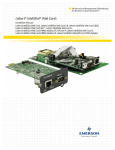 Emerson DataMate 3000 Series Installation manual
