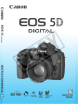 Canon EOS 5D - Focusing Screen Ee-A Instruction manual