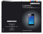 Medion Smartphone Instruction manual