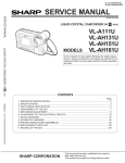 Sharp VL-AH30UC Service manual