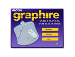 Wacom GRAPHIRE 4 User`s manual
