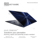 Asus N46VZ Product guide