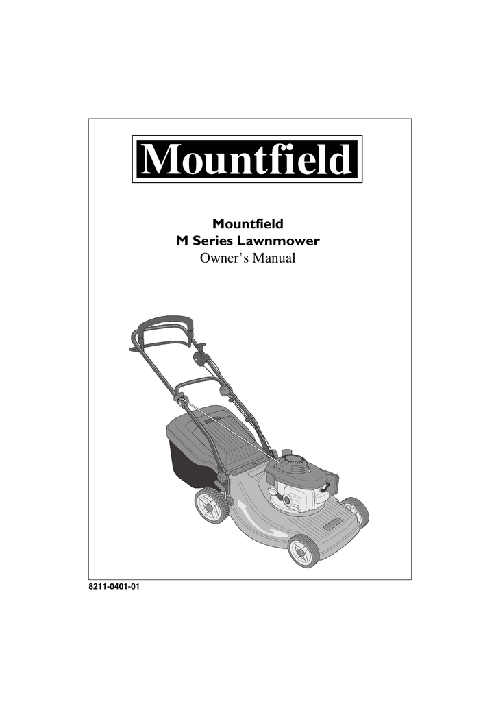 Mountfield M Series Owner`s manual #565354