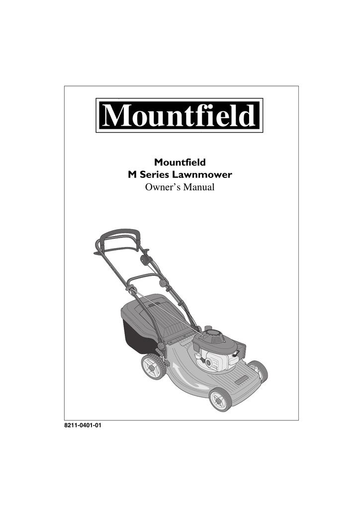 Mountfield M Series Owner`s manual #565354