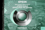 Epson PhotoPC700 User`s guide