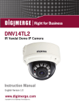 Digimerge DNV14TL2 Instruction manual