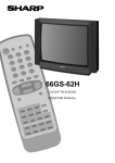 Sharp 66GS-62H Specifications