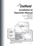 Delfield 4448N Specifications