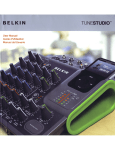 Belkin TuneStudio User manual
