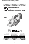 Bosch PLH181 Specifications