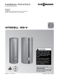 Viessmann VITOCELL 100-V Technical data