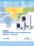 Emerson E2 Einstein Product manual