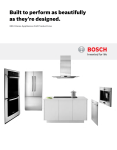 Bosch WTC82100US/09 Specifications