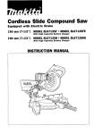 Makita BLS712SFE Instruction manual