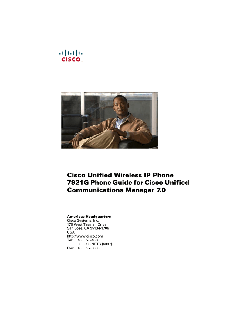 Cisco Ip Phone 7931 Инструкция