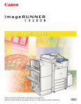 Canon imageRUNNER C3100 N Printer User`s guide