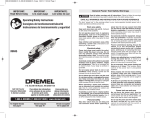 Dremel MM45 Specifications