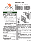 MHSC CDV7 Operating instructions