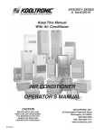 Event electronic K_NA4C3P21R Operator`s manual