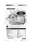 Sharp 27C540 Operating instructions
