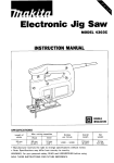 Makita 4303C Instruction manual