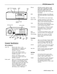 Epson Endeavor-WG Specifications