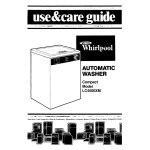 Whirlpool LC4500XM Operating instructions