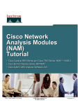 Cisco Network Analysis Module 6000 Specifications