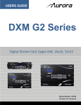 Aurora Multimedia DXE-CAT-S1 User guide