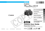 Canon power shot S51S User guide