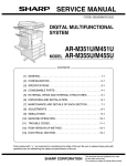 Sharp AR-M351U Service manual