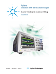 Agilent Technologies 8000 Series Specifications