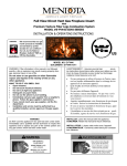 Mendota E-FV44I ECHO SERIES Operating instructions