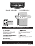 Char-Broil 463248208 Product guide