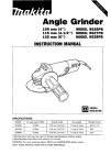 Makita 9528PB Instruction manual
