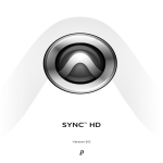 Avid Technology SYNC HD Instruction manual