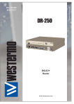 Westermo DR-250 User guide
