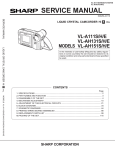 Sharp VL-A111S Service manual