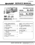 SERVICE MANUAL XL-DV5 XL-DV50