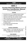 Axxess ASWC Installation manual