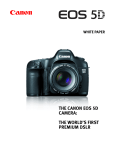 Canon EOS 5D - Focusing Screen Ee-A Specifications