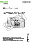 Canon PowerShot S45 User guide