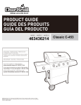 Char-Broil 463436214 Product guide