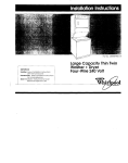 Whirlpool 3389589 Use & care guide
