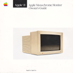 Apple Composite Monitor Specifications