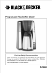 Programable Tea/Coffee Maker
