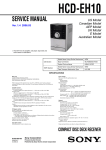 CMT IC202 Service manual