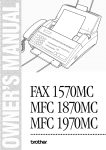 Brother FAX1570MC Specifications