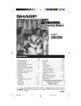 Sharp 32NS350 Operating instructions