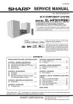 Sharp CD-ES700 Service manual